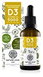 NATURE LOVE® Vitamin D3 5000 (50ml flüssig) -...