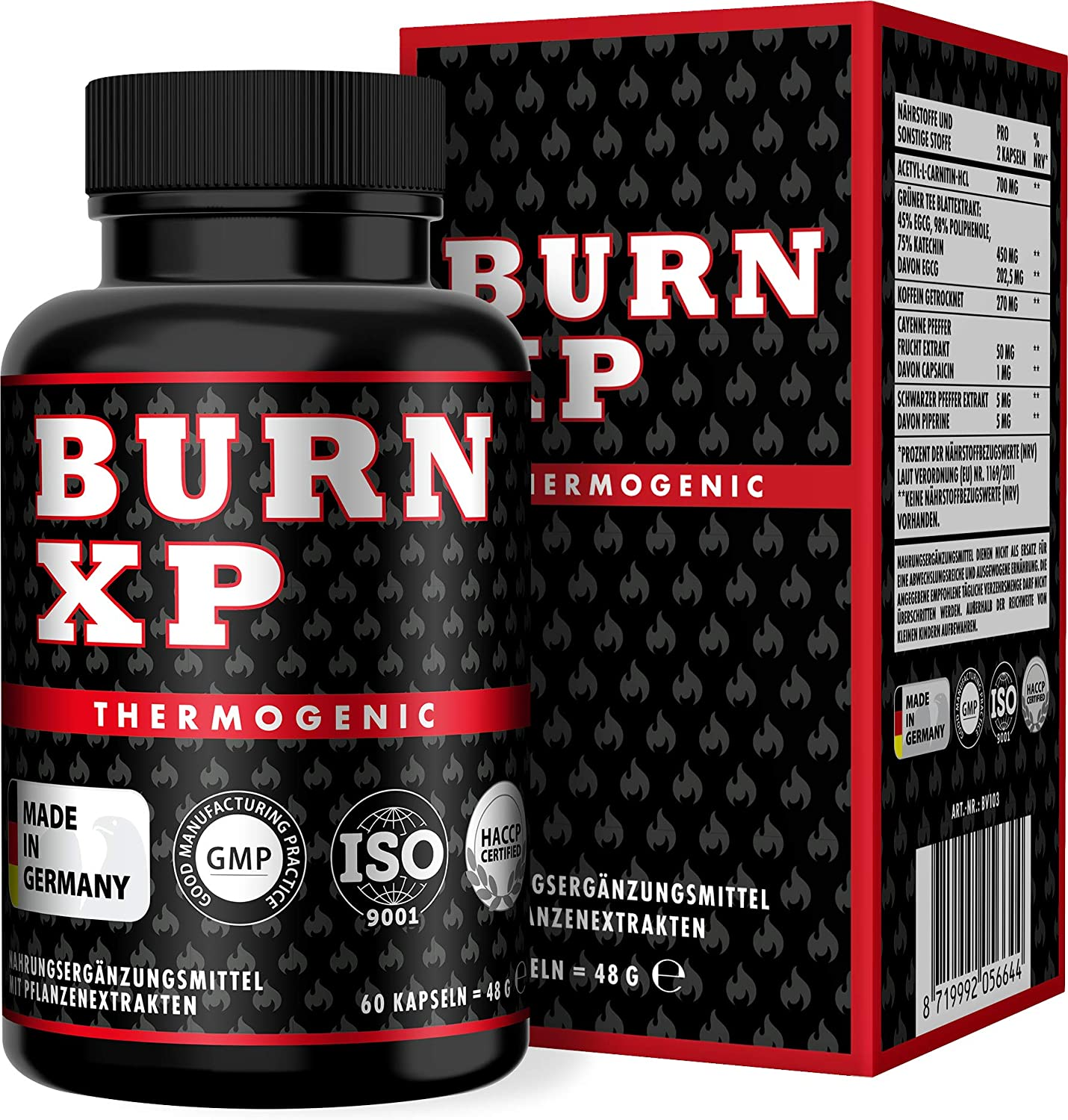 BURN XP - Thermogener Burner