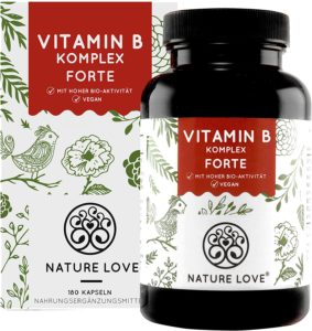 NATURE LOVE® Vitamin B Komplex Forte