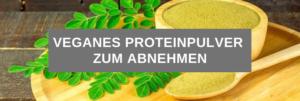 Veganes Proteinpulver zum abnehmen